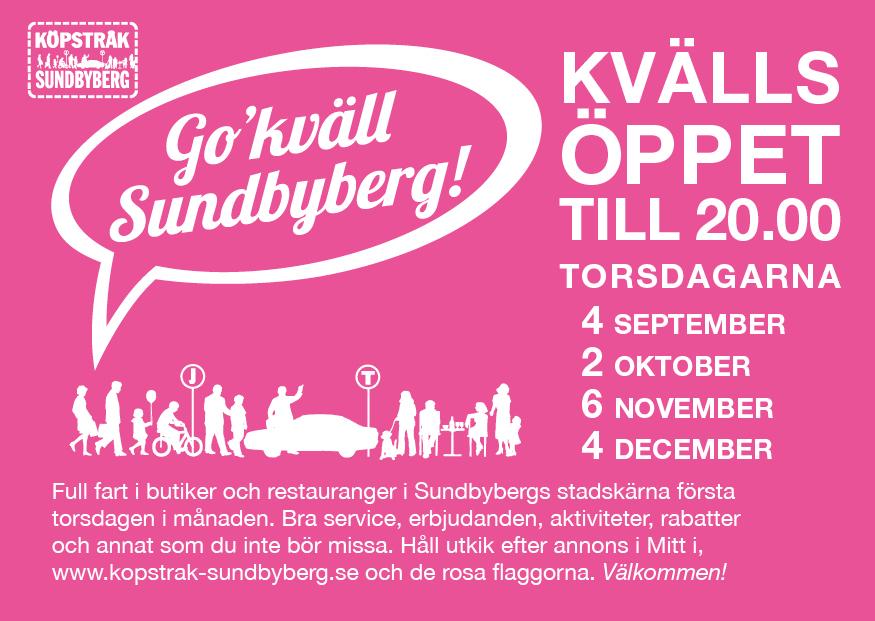 Go´kväll Sundbyberg!