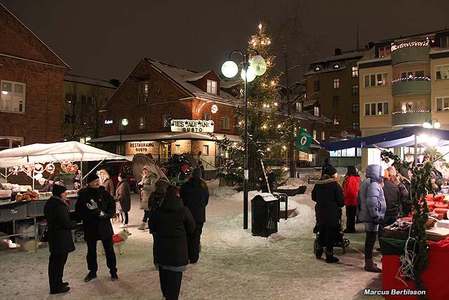 Julmarknad i Sundbyberg
