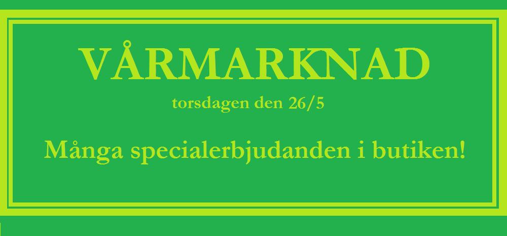 Vårmarknad i Sundbyberg